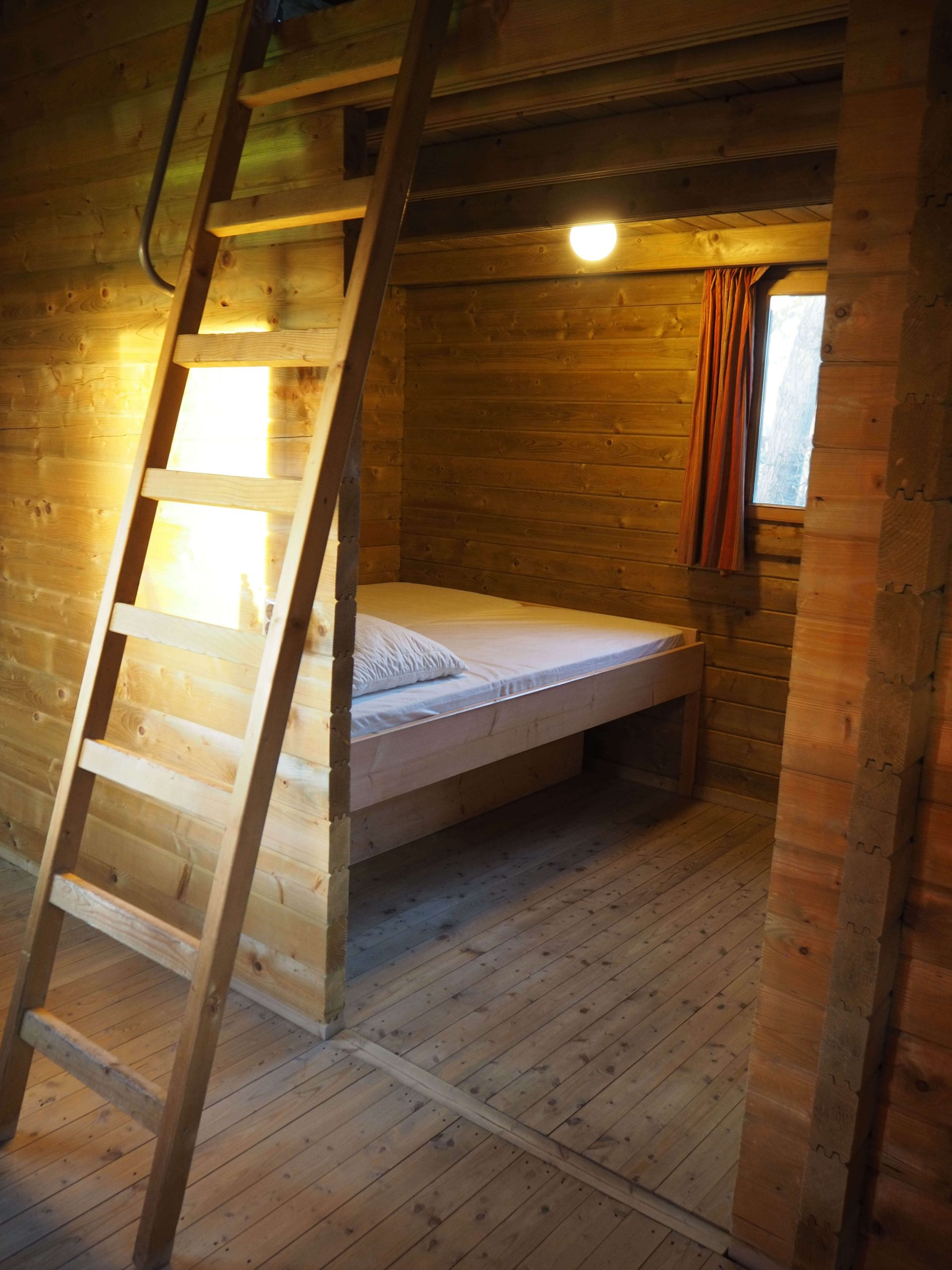 inrichting houten huis