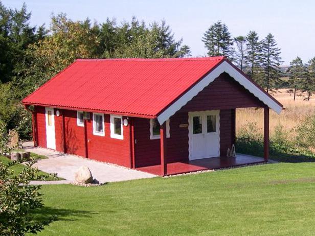 Tiny House ca 45m2 met luifel